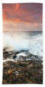 coast of Crete 'III Beach Towel