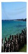 Coastal City Of St Malo France Beach Towel