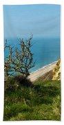 Coastal Path - West Bay To Eype  Beach Towel