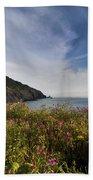 Coastal Wildflowers Of Oregon Beach Towel