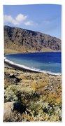 Coastline Of Hierro Island Beach Towel