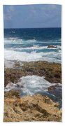 Coastline Surge Beach Towel