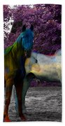 Coats Of Many Colors Beach Towel