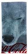 Coca Cola Polar Bear Beach Towel