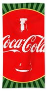 Coca Cola Pop Art  Beach Towel
