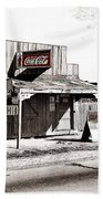 Coca-cola Shack   Alabama Walker Evans Photo Farm Security Administration December 1935-2014 Beach Towel