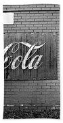 Coca-cola Sign Beach Towel