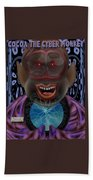 Cocoa The Cyber Monkey Beach Towel