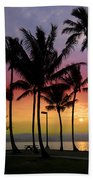 Coconut Island Sunset - Hawaii Beach Towel
