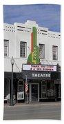 Cody Wyoming Theater Beach Towel