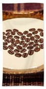 Coffee And Cream Beach Towel