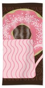 Coffee Break Beach Towel