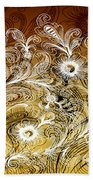 Coffee Flowers 6 Calypso Beach Towel