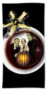 Coffee With The Munsters Beach Towel