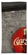 Coke Cola Sign Beach Towel
