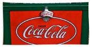 Coke Cooler Beach Towel