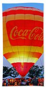 Coke Float Beach Towel