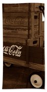 Coke Wagon Beach Towel