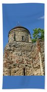 Colchester Castle Beach Towel