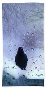 Cold Crow Beach Towel