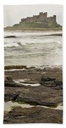 Cold Waves Of Northumberland Beach Towel