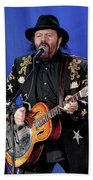 Colin Linden Of Blackie And The Rodeo Kings Beach Towel