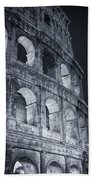 Colosseum Before Dawn Beach Towel