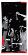 Collage Body Talk Poster Prize Jello Wrestling Contest Gay Bar Tucson Arizona 1992 Beach Sheet