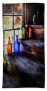 Collector - Bottle - A Collection Of Bottles Beach Towel