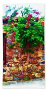 Colonia Del Sacramento Window Beach Towel