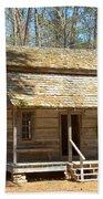 Colonial Cabin Beach Towel