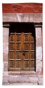 Colonial Door Arequipa Peru Beach Towel