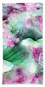 Color Abstract Red-green Beach Towel