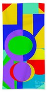 Color And Shape Series #1 Beach Towel