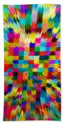 Color Explosion I Beach Towel