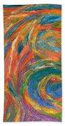 Color Fingers Beach Towel