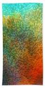 Color Infinity - Abstract Art By Sharon Cummings Beach Towel