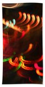 Color Light Motion Beach Towel