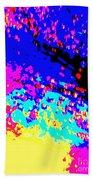 Color Of Rain Abstract Beach Towel