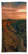 Color Of The Grand Canyon South Rim V8 Beach Towel