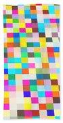 Color Quilt Beach Towel