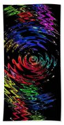 Color Spin Beach Towel