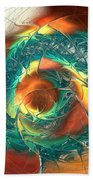 Color Spiral Beach Towel