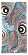Color Waves Beach Towel