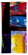 Color Your Life 1 Beach Towel