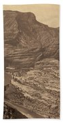 Colorado Canyons, 1872 Beach Towel