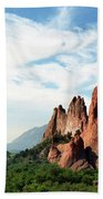 Colorado - Garden Of The Gods Beach Towel