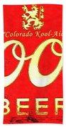 Colorado Kool-aid Beach Towel