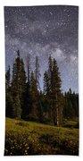Colorado Milky Way Beach Sheet