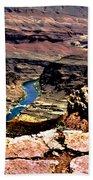 Colorado Rapids Grand Canyon Beach Towel
